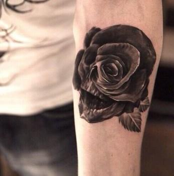 Tatuaje De Cráneo En El Brazo Tatuajesxd