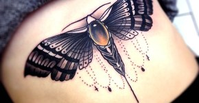 Tatuaje insecto gris