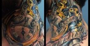 Tatuaje reloj