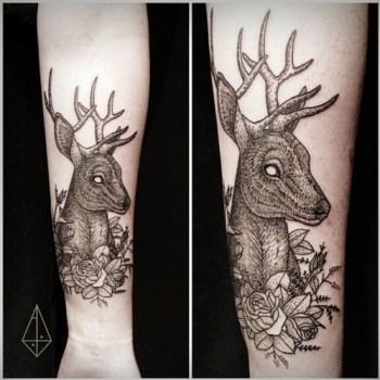 Tatuaje De Venado Tatuajesxd