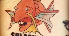 Tatuaje de Nigel Thornberry