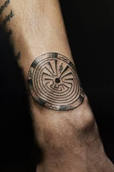 Tatuaje laberinto