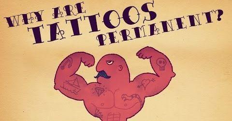 Por qué los tatuajes son permanentes
