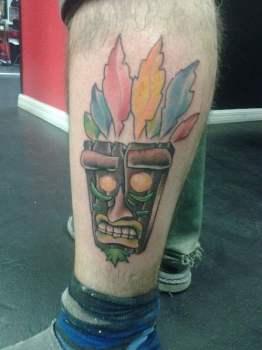 Tatuaje Aku Aku