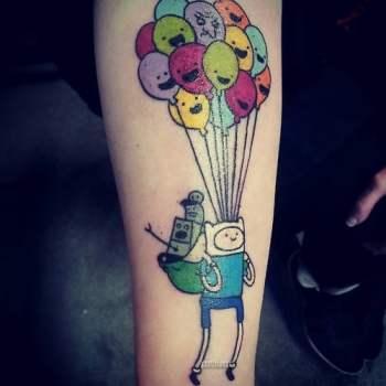 Tatuaje Hora Aventuras
