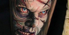 Tatuaje Niña Exorcista