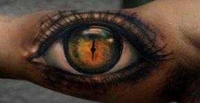Tatuaje ojo humano