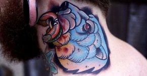 Tatuaje oso polar