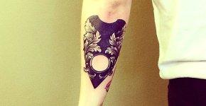 Tatuaje parte movible ouija