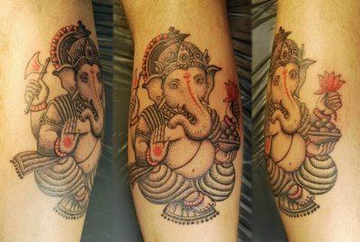 Tatuaje de Ganesha