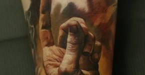 Tatuaje creación dinosaurios