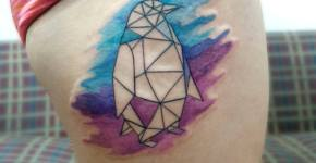 Tatuaje pingüino