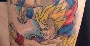 Tatuaje Dragon Ball Z