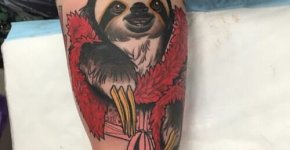 Tatuaje perezoso