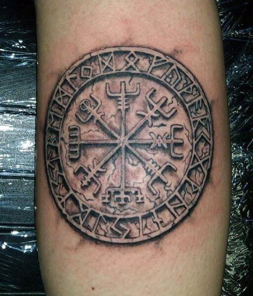 Historia Los Vikingos Tenian Tatuajes Tatuajesxd