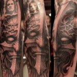 Paul booth tattoos