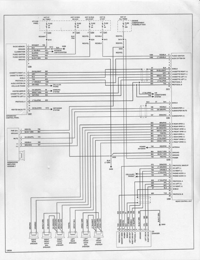 Radio Wiring Diagram For 2005 Ford Explorer Wiring Diagram – 2005 Ford Explorer Wiring Diagram