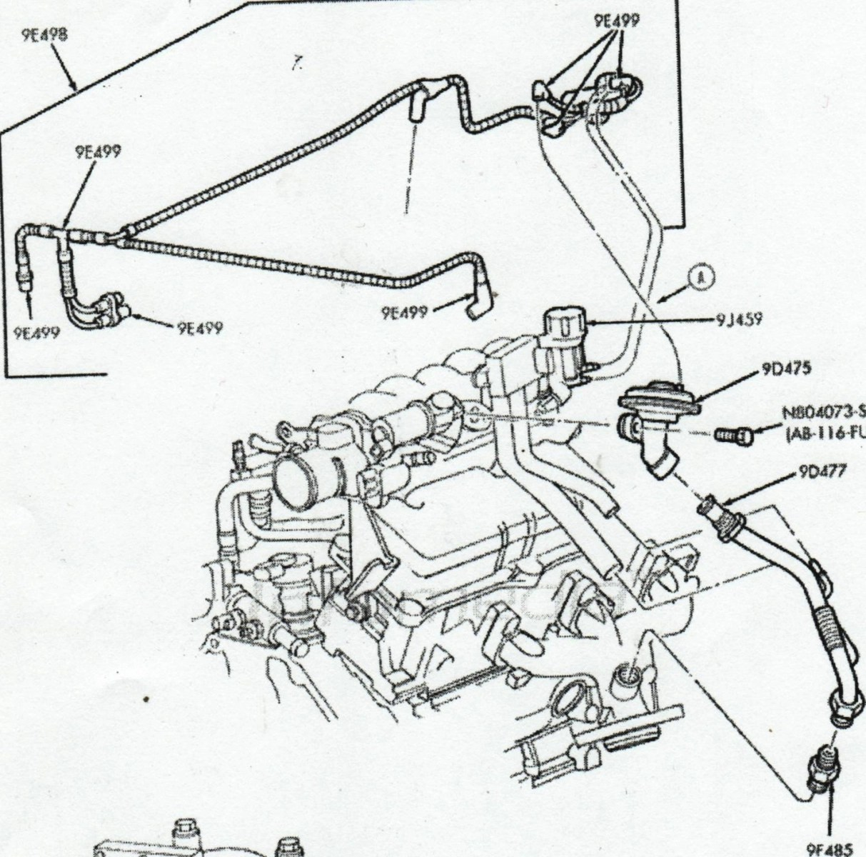2003 taurus sel fuel tank question page 2 taurus car club of 1991 ford ranger starter solenoid wiring diagram