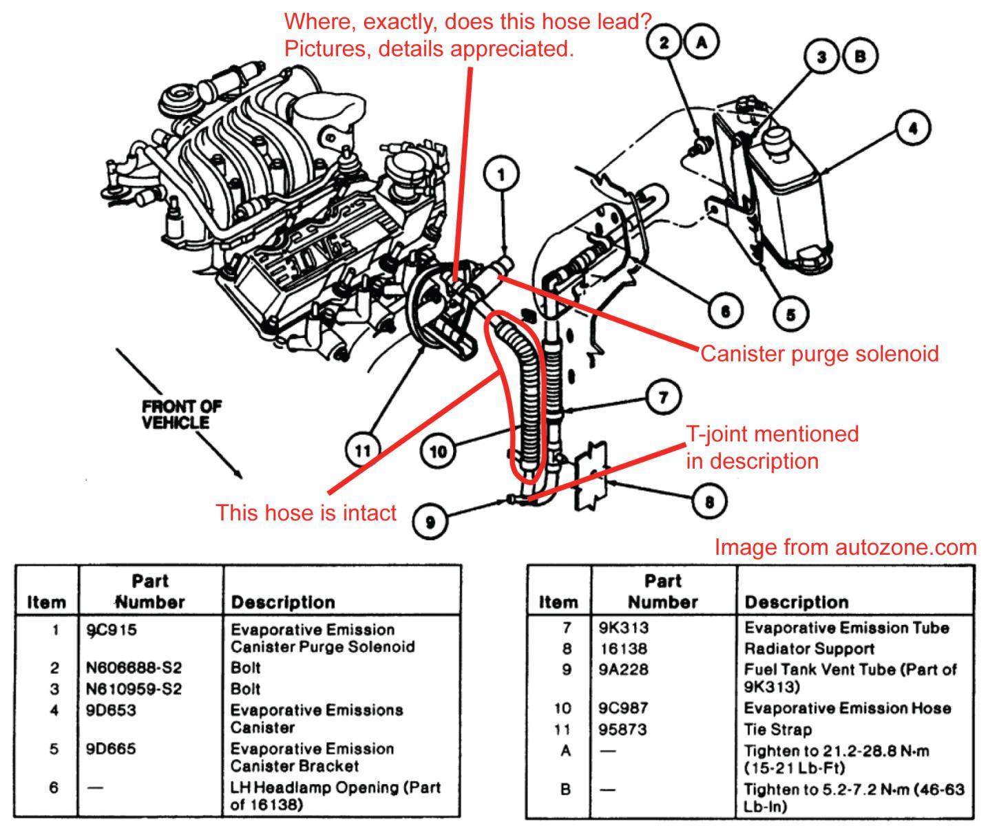 Ford Order Firing Liter Engine Ranger 3 0