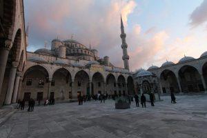 Moscheeplatz Istanbul