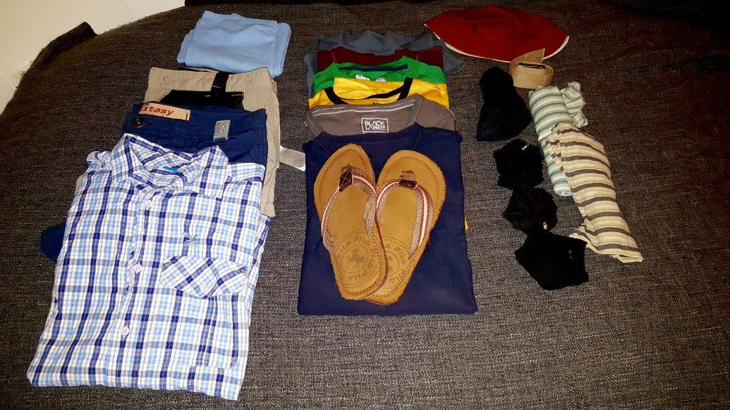 Packliste Kleidung Ricardo