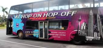KUALA LUMPUR MALAYSIA: HOP ON- HOP OFF BUS TOUR!