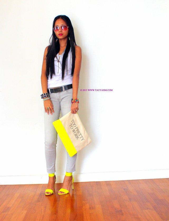 #streetstyle #fashion #neon
