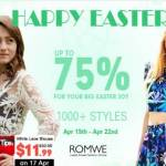 Romwe: Easter Break is Just Around the Corner