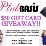 #Giveaway: Win a $50 Gift Card from PinkBasis.Com!