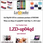 Special Voucher Code for Everyone! From Lazada Philippines