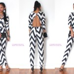 #OOTD: Chevron Jumpsuit