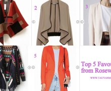 My Top 10 Rosewe.com Favourites