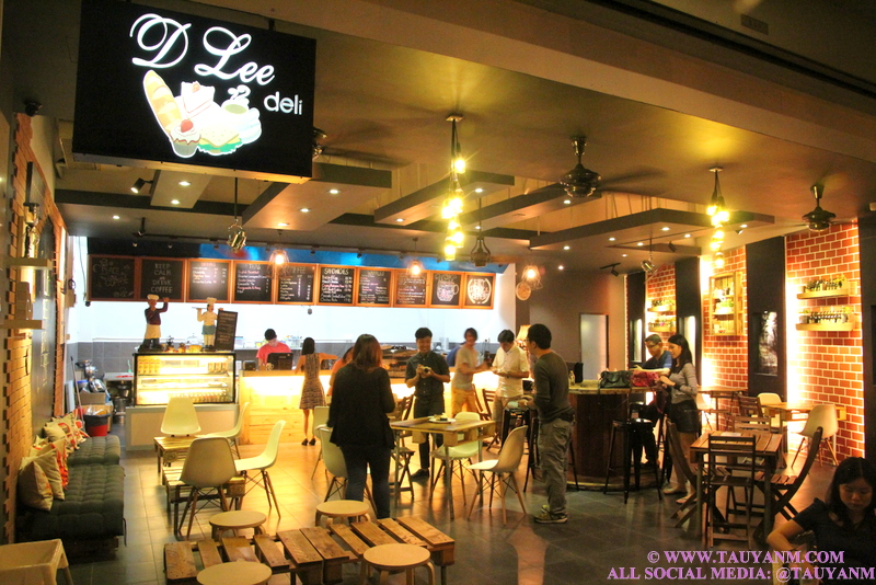 D' LEE DELI CAFE, MJ RESTAURANT, MALAYSIA FOOD BLOGGER