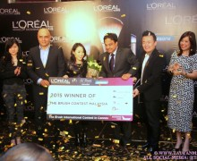 L'Oréal Paris The Brush Contest Winner Malaysia: Jamie Tan