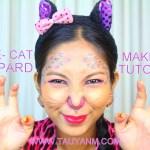 cat leopard makeup tutorial for beginner