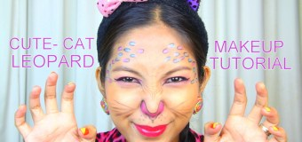 How To: Easy Cat – Leopard Makeup Tutorial for Beginner | @tauyanm