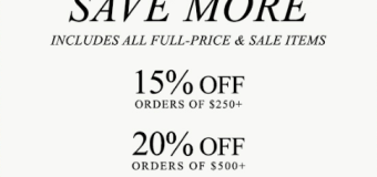 Buy More, Save more when you visit Shopbop.com November Sale! Get your Coupon or Discount Code now!