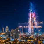 UAE-Dubai New Year – Amazing Burj Khalifa Fireworks + The Address Hotel Fire!