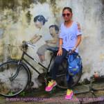 Travel Vlog: Penang, Malaysia Part4 Street Art + Caricatures (Photos + Video)