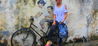 Travel Vlog: Penang, Malaysia Part4 Street Art + Caricatures (Photos + Video)