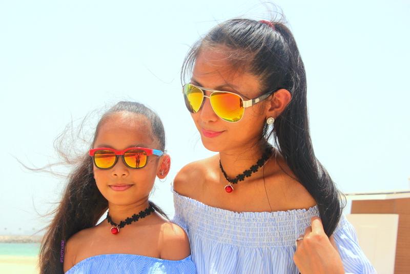 Burj Al Arab, off shoulder, mother and daughter, www.tauyanm.com