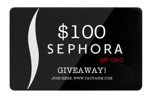 $100 Gift Card From Sephora