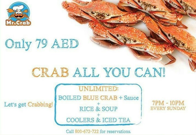 mr. crab dubai, uae #dubaifoodblogger