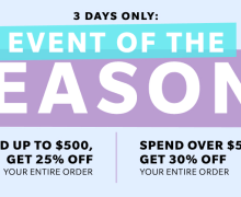 Event of the Season is Here! 3 Day Sale from Shopbop.com #fashionblogger #shopping