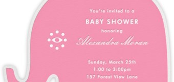 Baby Shower Invitations for your Baby Girl + 1,000 Coins International Giveaway!