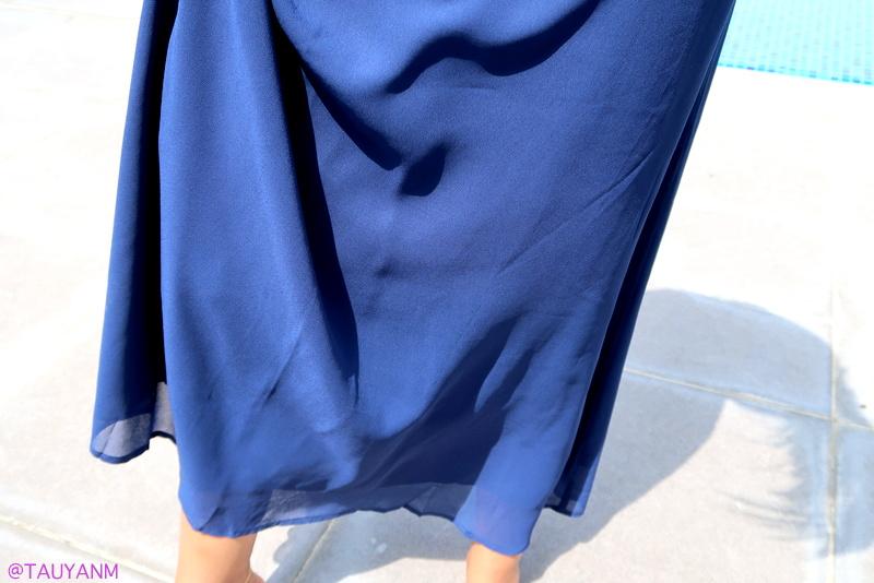 dresslink, fashion blogger, blue dress
