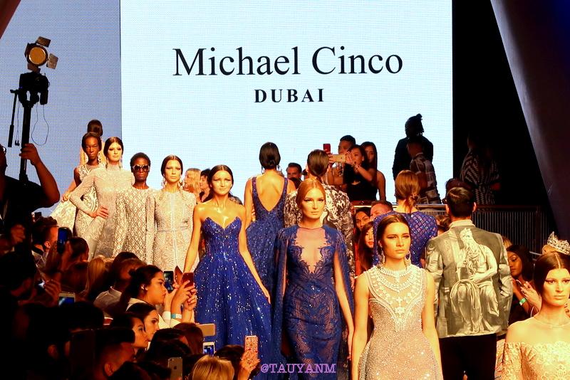 arab fashion week, michael cinco, dubai blogger,