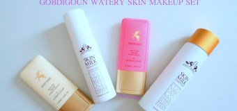 Unboxing: Gobdigoun Watery Makeup Skincare Set