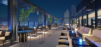 Relaxing Night in Seda Rooftop Bar BGC, Philippines