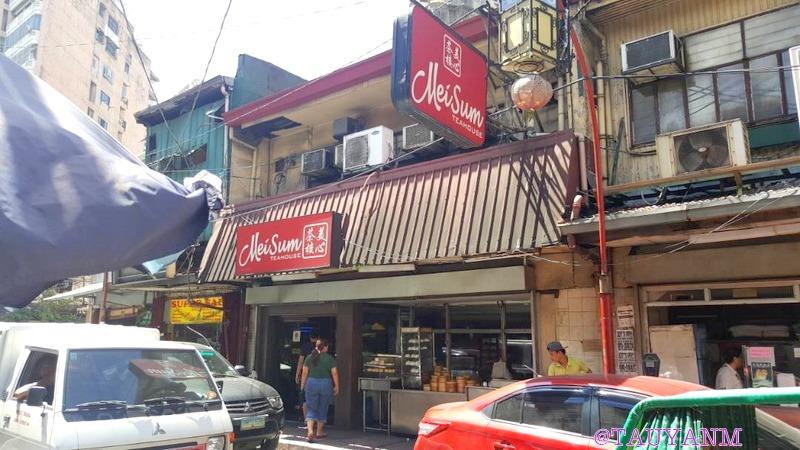 Dimsum Chinatown Philippines! Meisum Tea House